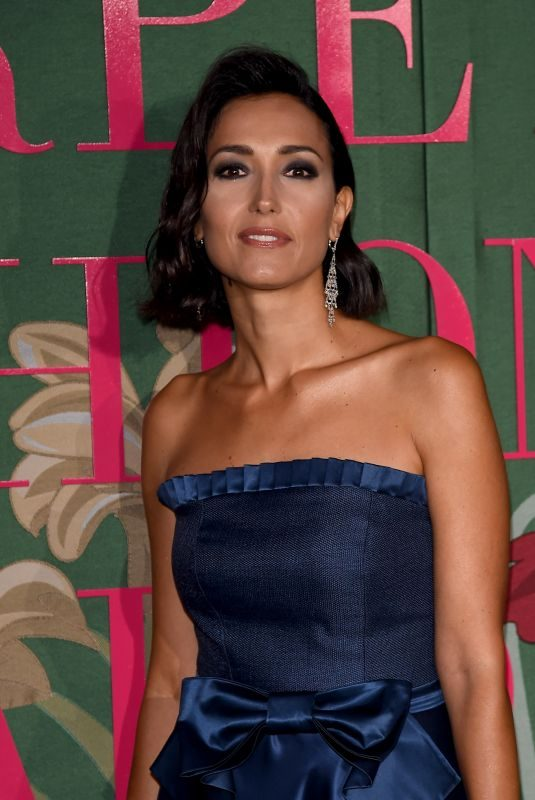 CATERINA BALIVO at Green Carpet Fashion Awards in Milan 09/22/2019