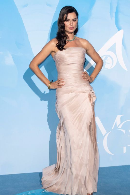 CATRINEL MARLON at Gala for the Global Ocean 2019 in Monte-Carlo 09/26/2019