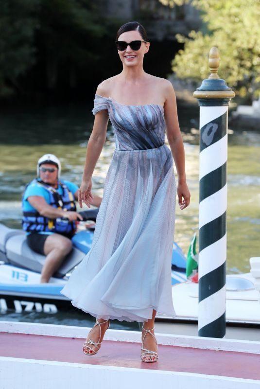 CATRINEL MENGHIA Out at 2019 Venice Film Festival 09/04/2019
