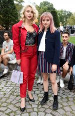 CAYLEE COWAN at Thom Browne The Officepeople Performance Installation at New York Fashion Week 09/07/2019