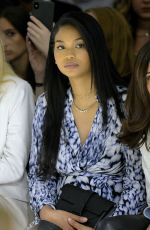 CHANEL IMAN at Elie Tahari Fashion Show at NYFW in New York 09/05/2019