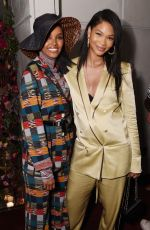 CHANEL IMAN at Etihad Airways Cocktail Party at NYFW in New York 09/10/2019