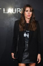 CHARLOTTE CASIRAGHI at Saint Laurent Womenswear Fasion Show at PFW in Paris 09/24/2019