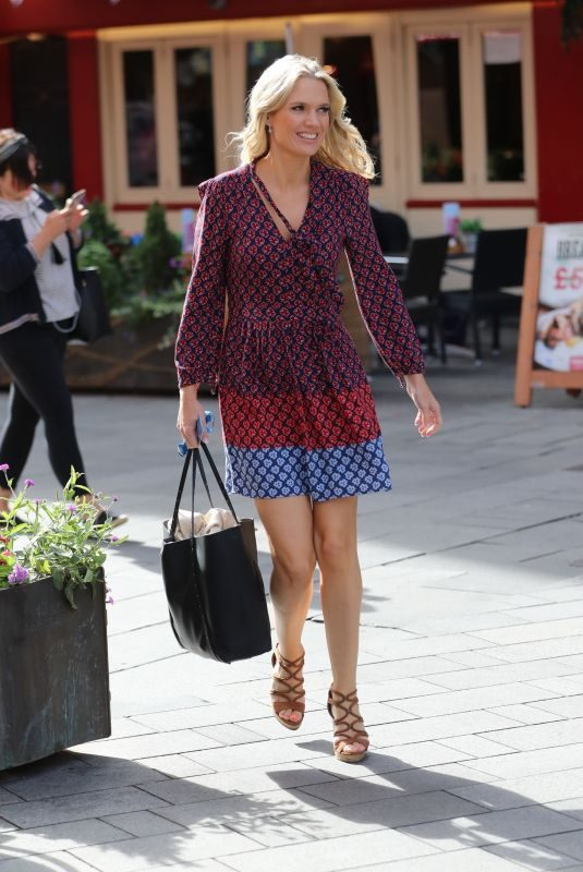 CHARLOTTE HAWKINS Arrives at Global Offices in London 088/30/2019