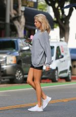 CHARLOTTE MCKINNEY a Hot Yoga Session in Santa Monica 09/23/2019