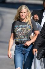 CHELSEA HANDLER Arrives at Jimmy Kimmel Live in Los Angeles 09/09/2019