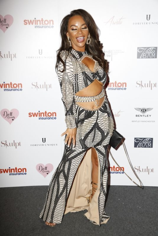 CHELSEE HEALEY at Creme Charity Ball in Cheshire 09/21/2019
