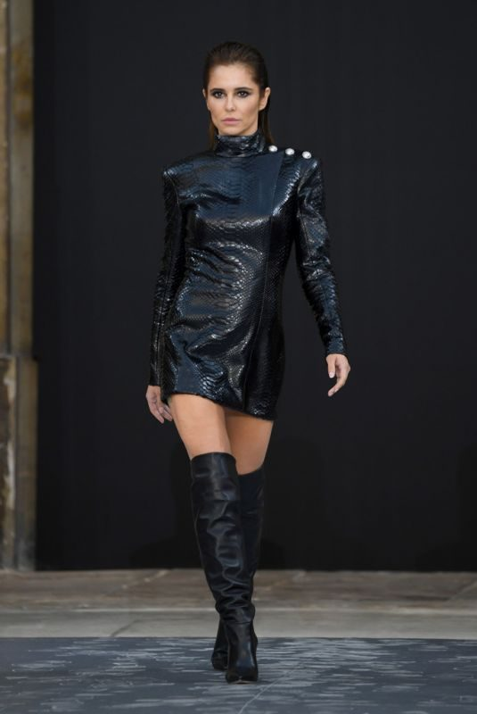 CHERYL COLE at Le Defile L'Oreal Paris Show at Paris Fashion Week 09/28/2019