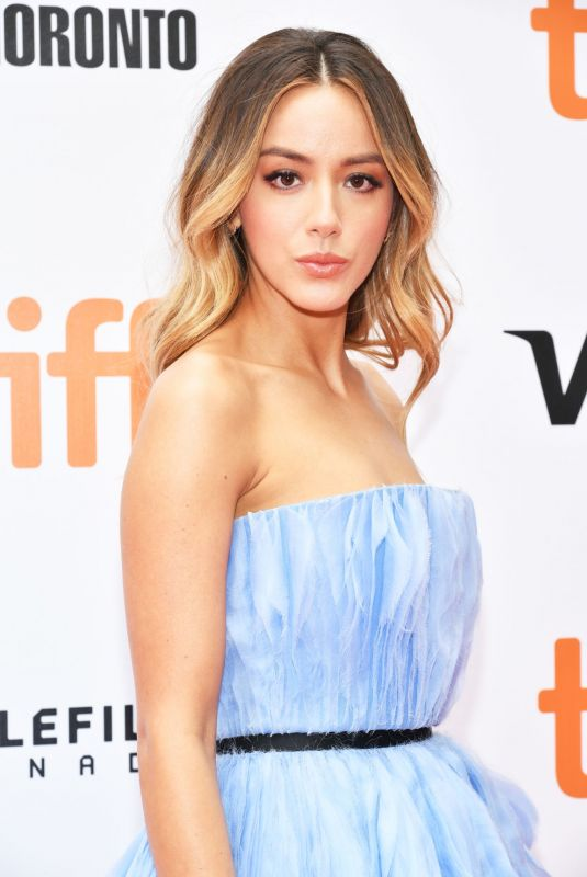 CHLOE BENNET at Abominable Premiere at 2019 Toronto International Film Festival 09/07/2019