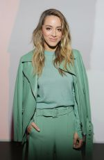 CHLOE BENNET at Boss Fashion Show in Milan 09/22/2019