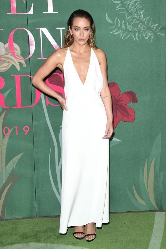 CHLOE BENNET at Green Carpet Fashion Awards in Milan 09/22/2019