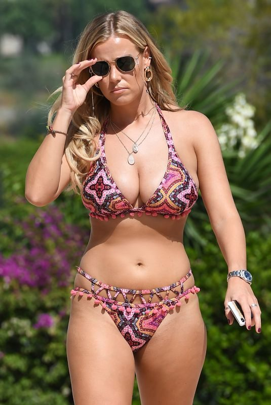CHLOE MEADOWS in Bikini Out in Marbella 09/20/2019
