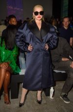 CHRISTINA AGUILERA at Christopher Kane Show at London Fashion Week 09/16/2019