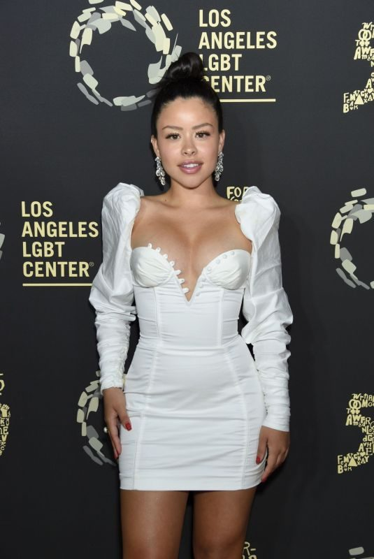 CIERRA RAMIREZ at Los Angeles LGBT Center 50th Anniversary in Los Angeles 09/21/2019