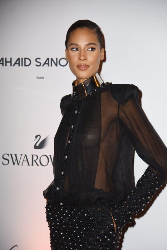 CINDY BRUNA at Paris Fashion Week Opening Dinner 09/23/2019