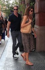CINDY CRAWFORD and Rande Gerber Out in New York 09/11/2019