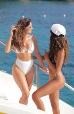 CJ FRANCKO and NATALIA JANOSZEK in Bikinis on Vacation in Jamaica 09/25/2019