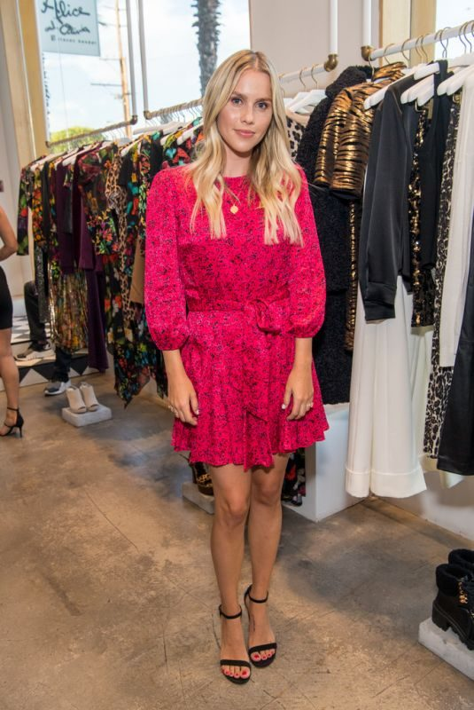 CLAIRE HOLT at Alice + Olivia Shopping Event Benefitting St. Jude in Beverly Hills 09/25/2019