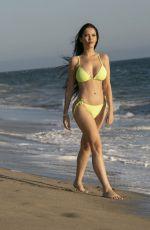 CLAUDIA ALENDE in Bikini at a Beach in Malibu 09/03/2019