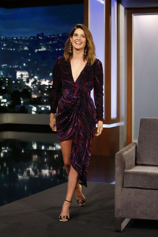 COBIE SMULDERS at Jimmy Kimmel Live 09/25/2019