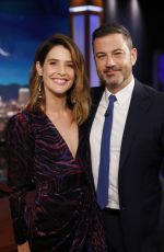 COBIE SMULDERS at Jimmy Kimmel Live! in Los Angeles 09/25/2019
