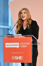 CONNIE BRITTON at #blogher19 Creators Summit in Brooklyn 09/18/2019