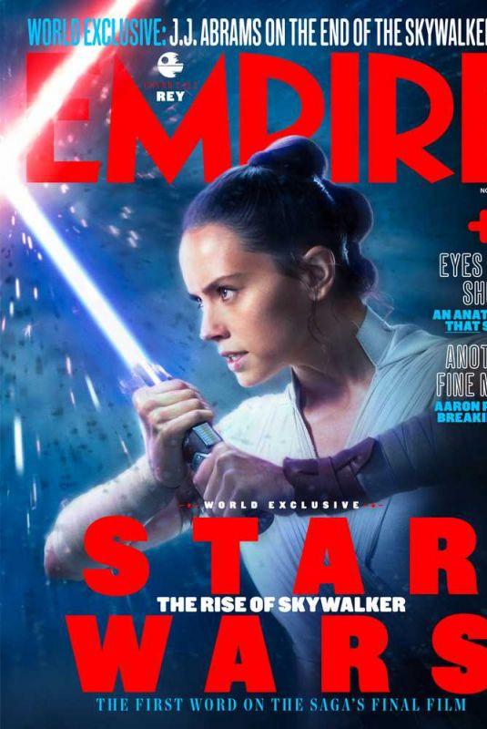 DAISY RIDLEY in Empire Magazine, November 2019