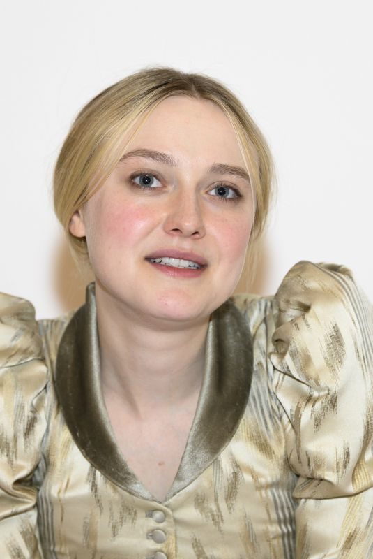 DAKOTA FANNING at The Alienist: Angel of Darkness Photocall in Budapest 09/25/2019