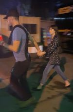 DAKOTA JOHNSON and Chris Martin Leaves Global Citizen Festival in New York 09/28/2019