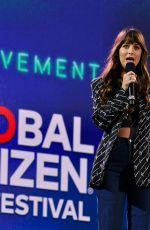 DAKOTA JOHNSON at 2019 Global Citizen Festival: Power the Movement in New York 09/28/2019