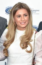 DANI DYER at Paul Strank Charity Gala in London 09/21/2019