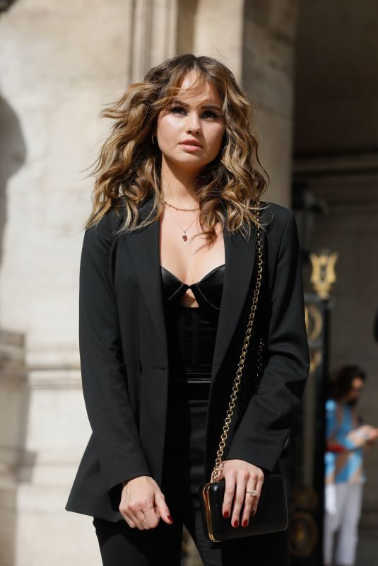 DEBBY RYAN at Balmain Show at Paris Fashion Week 09/27/2019