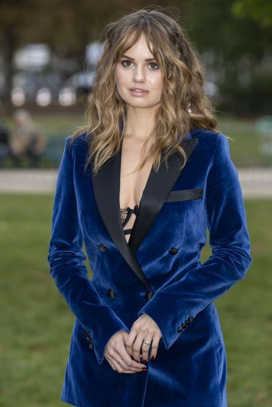 DEBBY RYAN at Elie Saab Fashion Show in Paris 09/28/2019