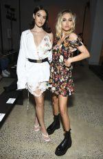 DELILAH and AMELIA HAMLIN at R13 Show at New York Fashion Week 09/07/2019