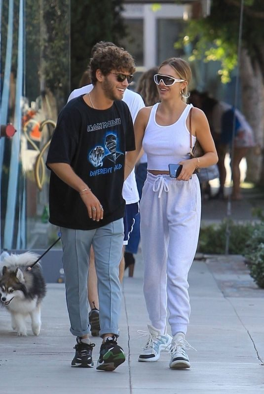 DELILAH HAMLIN and Eyal Booker Out in West Hollywood 09/23/2019