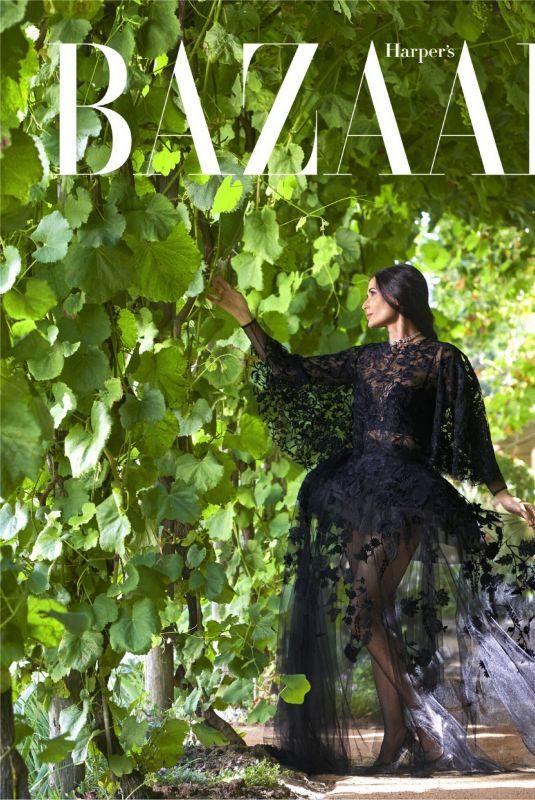 DEMI MOORE for Harper's Bazaar Magazine, October 2019
