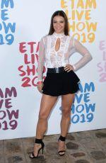 DENITSA IKONOMOVA at Etam Fashion Show at PFW in Paris 09/24/2019