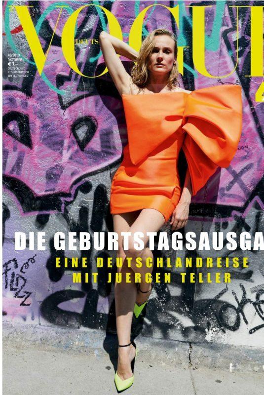 DIANE KRUGER in Vogue Magazine, Germany October 2019
