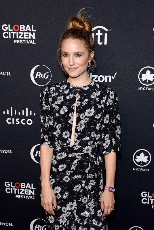 DIANNA AGRON at 2019 Global Citizen Festival: Power the Movement in New York 09/28/2019