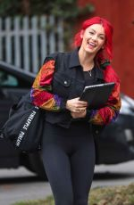 DIANNE BUSWELLL Arrives at Strictly Come Dancing Rehersal in London 09/09/2019