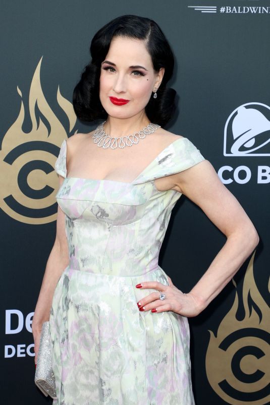 DITA VON TEESE at Comedy Central Roast of Alec Baldwin in Beverly Hills 09/07/2019