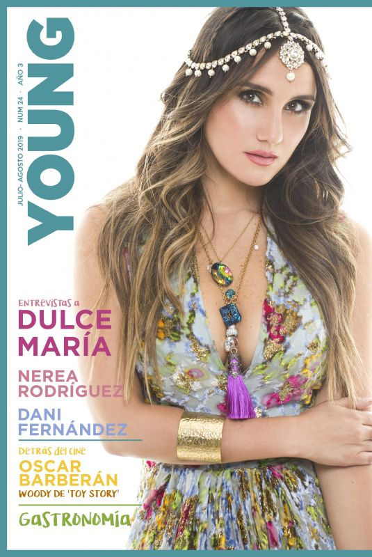 DULCE MARIA for Young Magazine, Spain Summer 2019