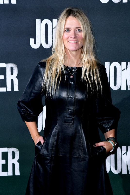 EDITH BOWMAN at Joker Special Screening in London 09/25/2019
