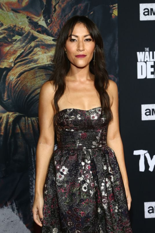 ELEANOR MATSUURA at The Walking Dead Premiere and Party in West Hollywood 09/23/2019