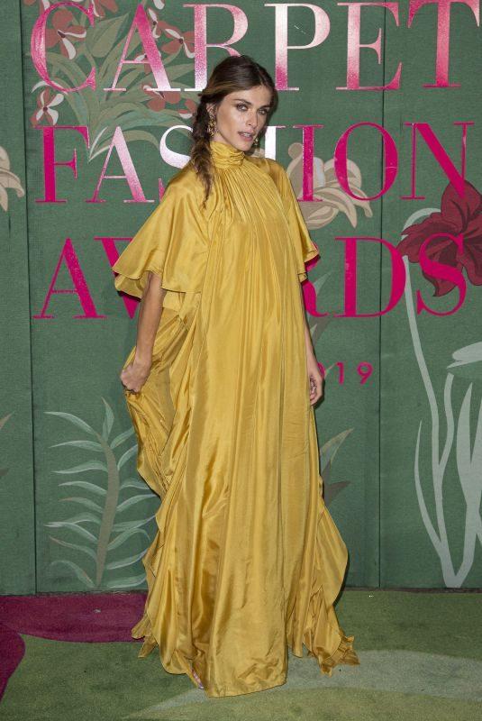 ELISA SEDNAOUI at Green Carpet Fashion Awards in Milan 09/22/2019