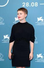 ELIZA SCANLEN at Babyteeth Photocall at 2019 Venice Film Festival 09/04/2019