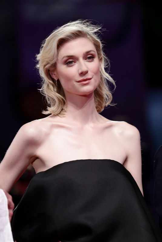 ELIZABETH DEBICKI at The Burnt Orange Heresy Screening at 76th Venice Film Festival 09/07/2019