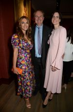ELIZABETH HURLEY at William Cash Book Party in London 09/10/2019