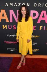 ELIZABETH READER at Transparent Musicale Finale Premiere in Los Angeles 09/13/2019