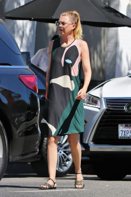 ELLEN POMPEO Out and About in Studio City 08/30/2019